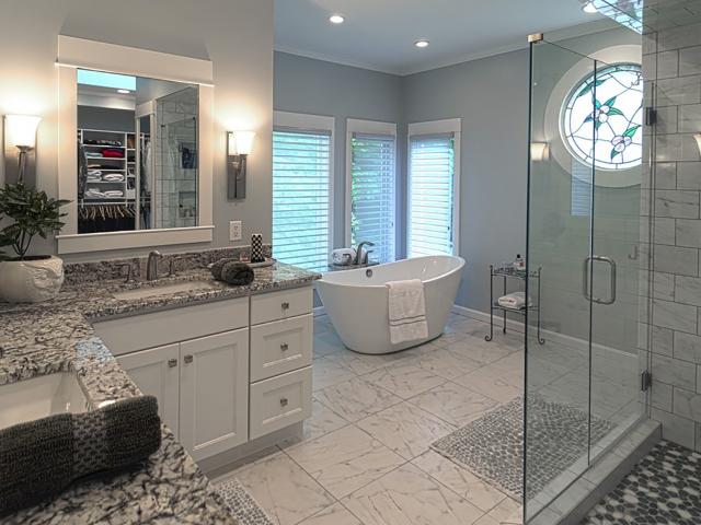 Bathroom Remodeling by B&D Bluewater Builders